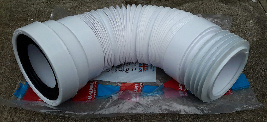 McAlpine WC-F26R Flexible WC Toilet Pan Connector £15! 170-410 mm WITH ORIGINAL PACKAGING! BARGAIN!
