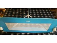 Tomy adjustable bed guard - blue