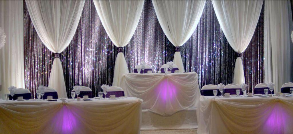 Wall Draping Venue Draping Backdrop Uplighting LED Mood light Wedding Venue Decorations & Wall Draping Venue Draping Backdrop Uplighting LED Mood light ...