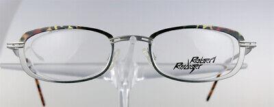 ROBERT RÜDGER 1950 Brille Brillengestell Braun Silber Metall Herren NEU (1950 Brille)
