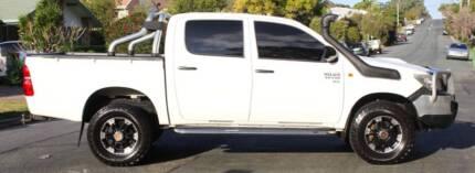 2012 Toyota Hilux Ute 4X4 TURBO DIESEL REGO AND RWC