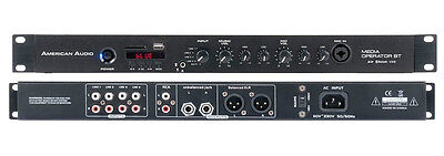 Media Operator BT USB MP3 Player mit Mischpult und Mikrofonkanal MP3/Bluetooth