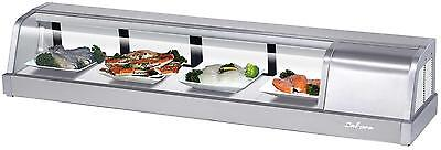Turbo Air 60 Refrigerated Sushi Display Case Stainless Sakura-60