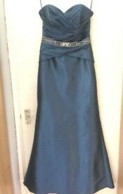 Sweet heart royal blue prom/ evening dress