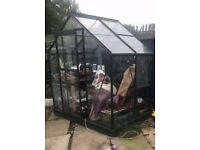 WANTED GREENHOUSE (polycarbonate/perspex)