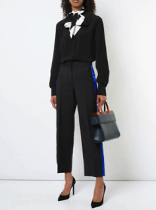 GIVENCHY side striped trousers