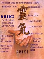REIKI  Usui Level One Certification Workshop