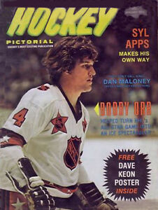 Wanted old hockey magazines and books