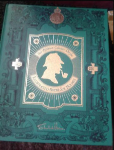 """Illustrated Sherlock Holmes"" Limited edition Book $50"