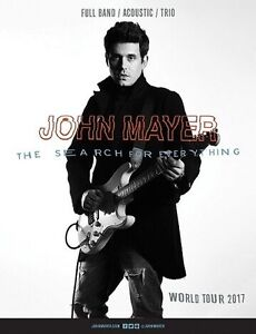 JOHN MAYER CONCERT - PAIR for 240$ REDS / SIDE STAGE