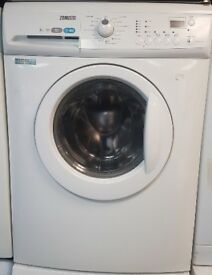 Zanussi 6kg 1600spin White Washing Machine with 4 MONTHS WARRANTY