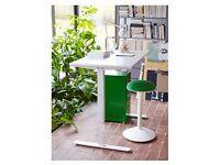Pristine White standing desk (Small, 70x120 white IKEA)