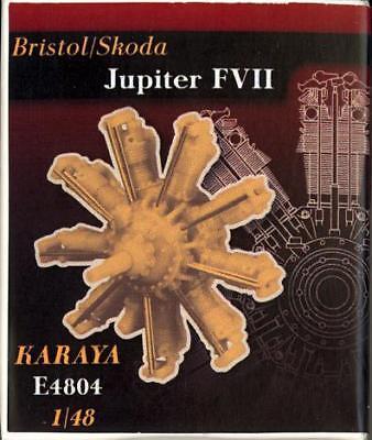 - Karaya Models 1/48 BRISTOL SKODA JUPITER FVII AIRCRAFT ENGINE Resin Set