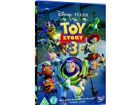 Toy story 3 BLU-RAY (3 disc includes dvd also) + other kids BLU-RAYS