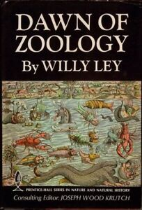 Dawn Of Zoology by Willy Ley - First Edition