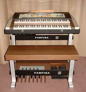 Orgue Farfisa Professional Duo Organ