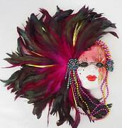 Mardi Gras Mask Ceramic