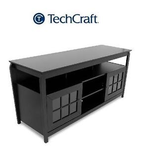 "NEW* TECHCRAFT TV CREDENZA - 60"" - 107229110 - 60-INCH WIDE FLAT PANEL TV CREDENZA - BLACK"