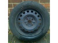 "Peugeot 107 Citroen C1 Toyota Aygo 14"" steel wheel spare 155/65R14"