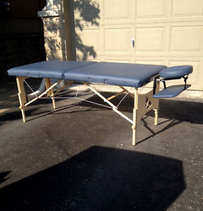 Portable Massage Table, Travel Case, Sheets