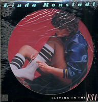 LINDA RONSTADT LIVING IN THE USA LP PICTURE DISC   GREAT FOR FR