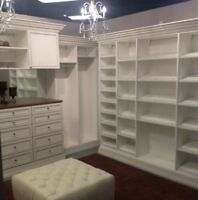 NEED HELP WITH CUSTOM CLOSET ORGANIZERS ? WE ARE HERE TO ASSIST