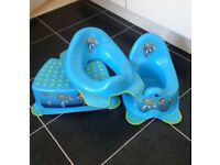 Toy Story toilet seat, step and potty