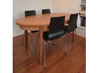 G Plan style extendable dinning table