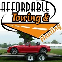 Affordable Towing and Hauling - Serving Airdrie & North Calgary