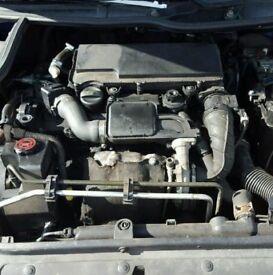 Peugeot 206 1.4 HDI Engine & Injectors, Turbo (2004)