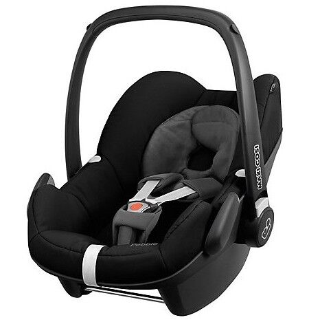 Maxi Cosi Pebble Group 0+ Baby Car Seat, Black