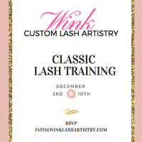 Lash extension training before the new year!