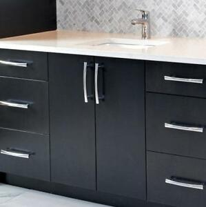 Made in YYC Built in Bathroom Cabinets