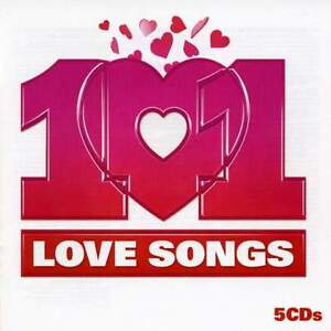 Various Artists - 101 Love Songs - 5 x CD Set *NEW*
