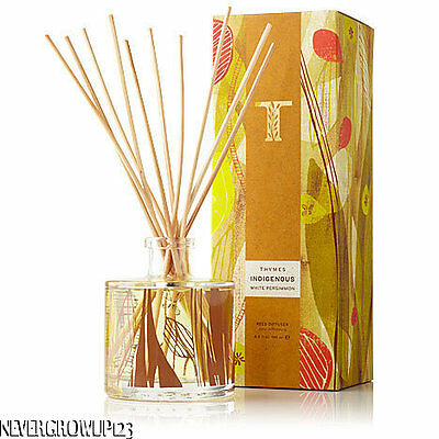 Thymes Indigenouswhite Persimmon Room Fragrance Reed Diffusernew In Box