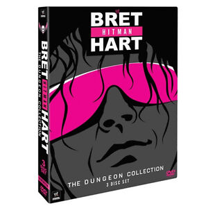 WWE-Bret-Hitman-Hart-Dungeon-Collection-3er-DVD-DEUTSCH-RC2-NEU