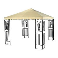 GAZEBO WITH TOP AND SCREEN IN EXCELLENT CONDITION