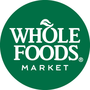 10 whole foods gift cards 50% off original card value