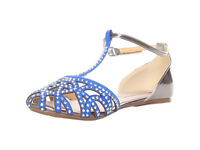 "Women sandals blue by ""ANA LUBLIN"" size 8(UK) Brand new"