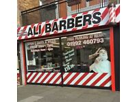 **BARBER WANTED**