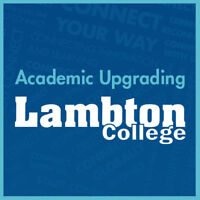 ACADEMIC UPGRADING - TUITION-FREE PROGRAMMING
