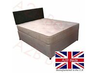Chunky Rome Double Divan Bed = £139 (Base & Chunky Mattress) + FREE DELIVERY!!
