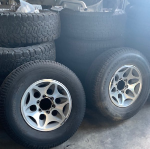 For Sale Pre 2000 Mitsubishi Pajero Alloy Wheels & Tyres Rockingham Rockingham Area Preview