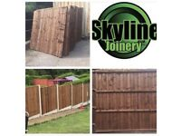 6ft x 6ft Treated Fence Panels £33.00 other sizes available,Free delivery In Nottingham