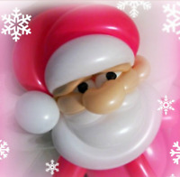 Christmas Special Face Painter and Balloon Twister