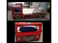 Fire Engine Single Bed Only