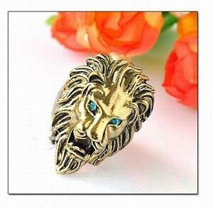 Hot-Fashion-Vintage-Green-Crystal-Eye-Justice-Lion-Ring