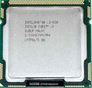 Processeur Intel Core i3-530 Saguenay Saguenay-Lac-Saint-Jean image 1