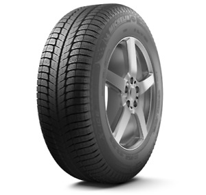 Michelin snow tires with black steel rims