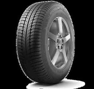 Michelin X Ice 3 winter tires on rims 205/55R16 84H
